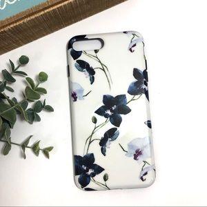 Orchid Plastic Black Bumper iPhone 7/8 Plus Case